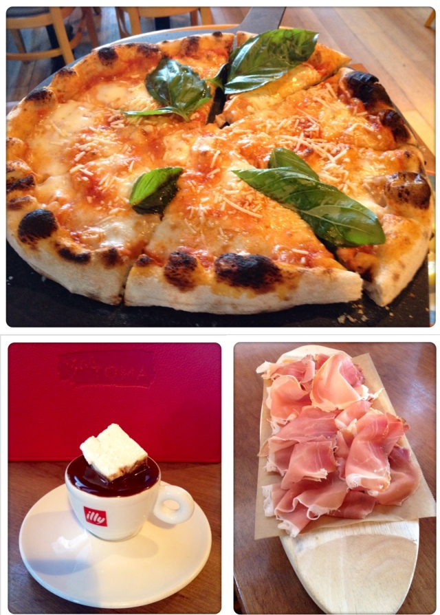 Love love love the prosciutto! It was so great added to the pizza too.